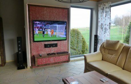LCD TV Panasonic Heimkino Canton